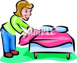 bed clipart the coolest home and interior decorations make bed clip art 350 286