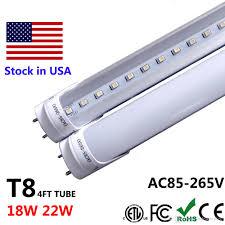 4ft led t8 4 ft 4feet led light fixture 18w 22w 28w led shop