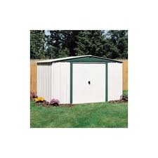 Arrow Woodridge Steel Storage Sheds by Arrow 4x10 Yardsaver Metal Storage Shed Kit Get A Quote Metal