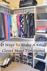 Stylish Organize A Small Closet Walk In Interior Designing