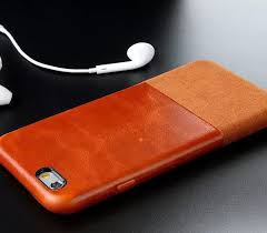 Ultrathin Microfiber Genuine Real leather Duotone Phone Cases