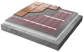 electric underfloor heating warmup