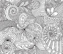 Abstract Animal Coloring Pagesprintable Adult Pages