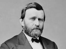 US President Ulysses S Grant Circa 1870