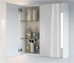 spiegelschrank badezimmerschrank beleuchtung ikea storjorm