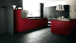 Red Kitchen Cabinets With Black Glaze Large Size Of Rustic Decor For