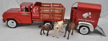 1961 Custom Tonka Farms Stake Truck With Horse Trailer. Custom Tin ... Classix Em76505 Oo176 Jenson Jentug Mechanical Horse With Flat Breyer Classics Black Semileopard Appaloosa Walmartcom Star Pink Plastic Toy Truck And And 50 Similar Items Loading Up Mini Whinnies Horses In Ves Trailer Sleich World Of Nature Farm Life Horse Riding Sets Toys Old Car 3 Stock Image Of Teskeys Saddle Shop Double Horseshoe Buy Horse Trailer Toy Get Free Shipping On Aliexpresscom Ford F350 Fifth Wheel W 2 By New Ray Long Haul Trucker Newray Toys Ca Inc Atc Haulers Transporter During The Day Living Quarters At Night Ugears Heavy Boy Vm03 Dsc8756 Kyivpost