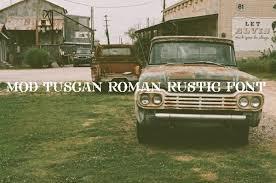 FHA Mod Tuscan Roman Rustic Font