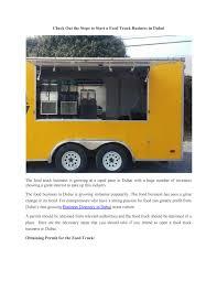100 Food Truck Permit Dubai Business By Dayof Dubai Issuu