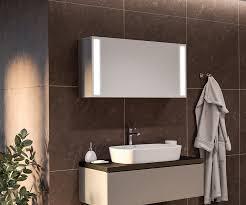 spiegelschrank mit led beleuchtung sofia