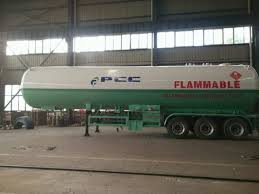 100 Propane Trucks For Sale 60000 Liters Tanker Truck Trailer Tri Axle LPG Gas Tank Semi Trailer 30 Tons