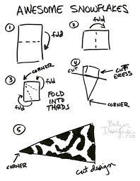 Balzer Designs Paper Snowflakes