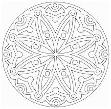 This Advanced Mandala Coloring Sheet Is A Fun Design And Quite Challenging To Color V Page Can Be Decorated Online With The