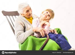 Old Woman Sitting Rocking Chair Her Grandchildren — Stock ... Happy Calm African Girl Resting Dreaming Sit In Comfortable Rocking Senior Man Sitting Chair Homely Wooden Cartoon Fniture John F Kennedy Sitting In Rocking Chair Salt And Pepper Woman Sitting Rocking Chair Reading Book Stock Photo Grandmother Her Grandchildren Pensive Lady Image Free Trial Bigstock Photos Hattie Fels Owen A Wicker Emmet Pregnant Young Using Mobile Library Of Rocker Free Stock Png Files