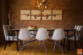 Rustic Modern Dining Room In Chicago
