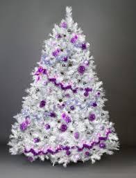 White Scottish Fir Christmas Tree 8ft Tall