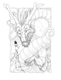 559 Best Dragons To Color Images On Pinterest