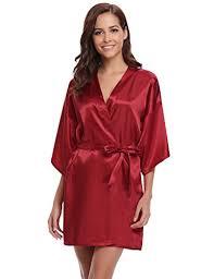 robe de chambre satin peignoir kimono satin femme d occasion