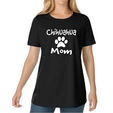 2017 New Fashion CHIHUAHUA MOM Womens T Shirts Tumblr Funny Harajuku Punk Clothes Tee Shirt