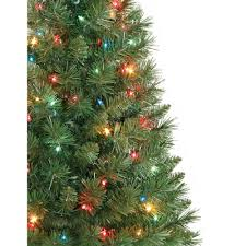 Pre Lit Artificial Fraser Fir Christmas Tree by Holiday Time Pre Lit 3 U0027 Winston Pine Artificial Christmas Tree