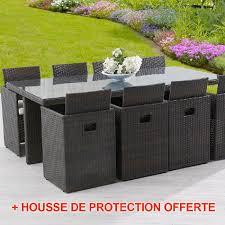 housse de protection pour canapé de jardin emejing housse de table de jardin en resine pictures matkin info