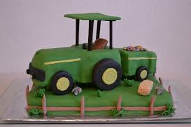 traktor motivtorte tortenfee