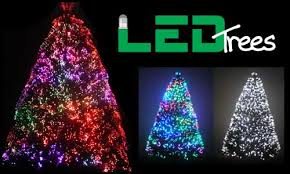 7ft Artificial Christmas Tree With Lights by Fiber Optic Christmas Trees Fiber Optic Tree