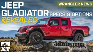 100 Jeep Truck Gladiator Pickup Revealed Full Specs And Option