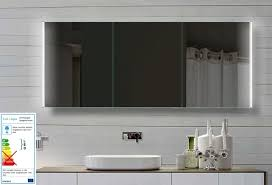 line spiegelschrank 160x72cm mit led beleuchtung kalt warm weiß einstellbar