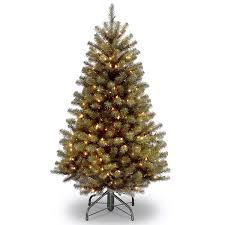 Pre Lit Led Christmas Trees Walmart by Amazon Com National Tree 7 5 Foot North Valley Spruce Tree With