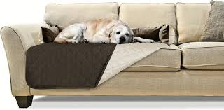 furhaven sofa buddy pet bed furniture cover large espresso clay