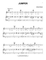 Download Jumper Sheet Music By Third Eye Blind Sheet Music Plus
