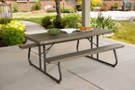 Lifetime Folding Picnic Table Assembly Instructions 6 ft folding picnic table