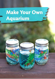 Best Everyday Kid Crafts Images On Toddler Kids Home Make A Mason Jar Aquarium For Craft Beer Ottawa To Sell