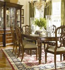 Thomasville Fredericksburg Collection Dining Room Set With 8 Chairs