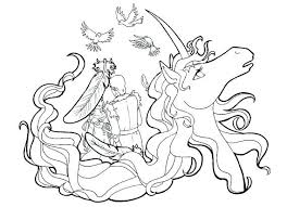 The Last Unicorn Coloring Pages Colouring Page And Poop Emoji
