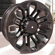 100 8 Lug Trucks SCA 20 Inch OffRoad Wheel Satin Black SCA Performance Black