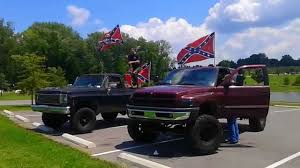 100 Rebel Flag Truck Supporters Drive Through TN YouTube