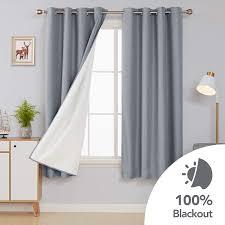deconovo blickdichte vorhänge gardinen schlafzimmer