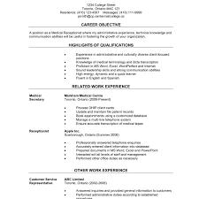 Resume For Job Fair Inspirational Models Sample Resume For A Career