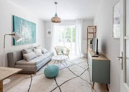 helles und wohnliches wohnzimmer design living