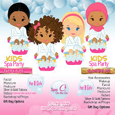 Kids Spa Party Packages