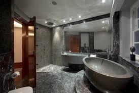 freistehende badewanne als zeitgenössischen badezimmer