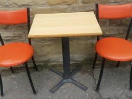 Commercial Bistro Set Table Two Chairs Eleven Available In Dewsbury