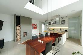 esszimmer mit küche grimm architekten bda moderne esszimmer