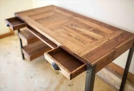 fabriquer un bureau avec des palettes bemerkenswert construire bureau en palette mod les diy et