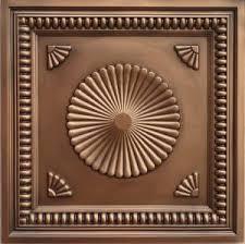 Antique Ceiling Tiles 24x24 by Ceiling Tiles By Us Vc 4 Cupolas Vinyl Plastic Antique Copper 3