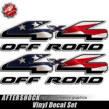 100 Ford Truck Decals 4x4 American Flag F150 Aftershock