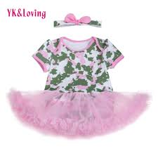 cheap infant camouflage girl dress aliexpress