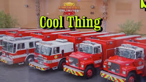 100 Fire Trucks Unlimited Trucks The Reyburn Family YouTube